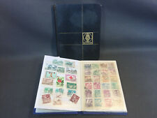 Lots de 2 anciens albums de collection de timbres vintage