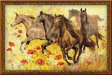 "Counted Cross Stitch Kit RIOLIS - ""Horses"""