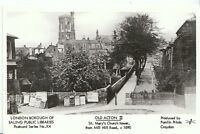 London Postcard - Old Acton 11 - St Mary's Church Tower from Mill Hill Road U768