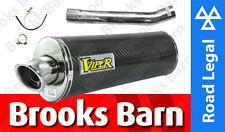 EXC501EM VFR400 NC30 89-93 Viper Sistema De Escape + Tubería de enlace puede