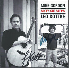 "SIGNED BY MIKE GORDON & LEO KOTTKE ""SIXTY SIX STEPS"" CD COVER/BOOKLET"