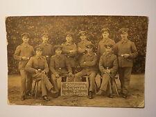 Soldaten II. Abteilung Rekr. Dep. Landst. Batl. No. 12 Friedrichsfeld 1915 Foto