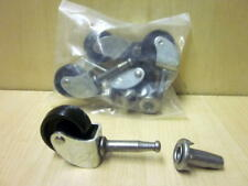 Furniture Castors Wheels With Sockets For Beds Settee Chairs Sofa