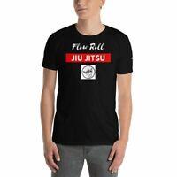 Oss Combat Sports - BJJ T-Shirt - Gracie Brazilian Jiu Jitsu - Flow Roll BJJ