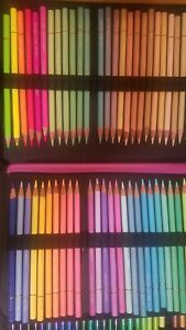 Holbein Colored Pencils 150 Set! Artist grade pencils. Barely Used, in New Case