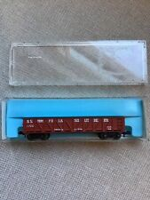 N Scale Atlas 2231 Norfolk & Southern 40' Gondola 7700