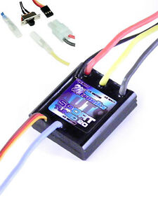 Electronic Speed Controller Sport Tuned 20 Auto Waterproof Brushed ESC Mtroniks