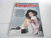 NOV 1982 ESQUIRE mens fashion magazine FATHER LOVE
