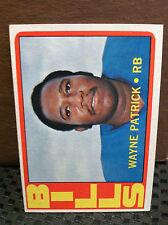 1972 Topps # 57 Wayne Patrick .. NM/NM+...   BILLS ****.. RF-4282