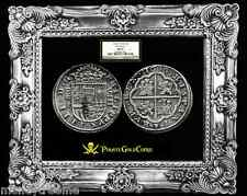 SPAIN 1630 8 REALES SILVER COIN (PIECES OF EIGHT)  KING PHILIP IVth NGC 55