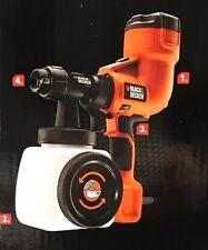 GENUINE Black & Decker 400W  HVLP200 Handheld Fine Paint Sprayer Gun NEW