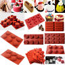 Silicone Mousse Muffin Pudding Pastry Mould Bakeware Cake Pan Baking Tray Tools