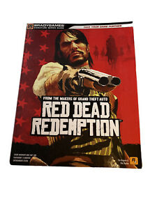 Red Dead Redemption Brady Strategy Guide w/ Poster Xbox 360 PS3