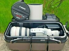 Canon EF 600mm f/4L IS USM Lens Japan Great Condition