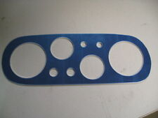 FORD ESCORT MK1, 6 DIAL DASH ,REPLACEMENT GAUGE ALUMIMIUM PLATE, RS , RALLY,RACE