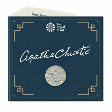 Agatha Christie 2020 UK £2 Brilliant Uncirculated Coin