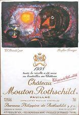 Étiquette - Mouton Rothschild 1998 - 75 cl.