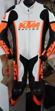 KTM Motorbike Leather Suit in All Sizes. Motorcycle Leather Suit