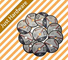 100MM CUTTING DISC WHEEL THIN ANGLE GRINDER CUT OFF METAL STEEL FLAP 10pcs