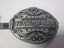 Oval McCormick-Deering Farmall  Belt Buckle