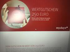 mydays Gutschein 250.- €