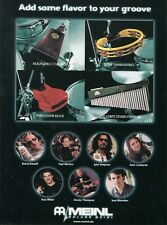 2002 Print Ad of Meinl Percussion w Dave Lombardo Paul Wertico Chester Thompson