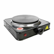 Hot Plate 154 mm Diameter 1000W Grade: 9 - Black