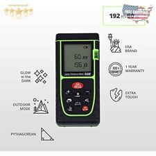 Laser Measure Usa Professional 196 Ft Digital Laser Distance Measuring Tape Tool