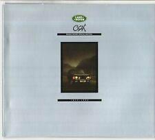Range Rover CSK Limited Edition 1990 UK Market Sales Brochure