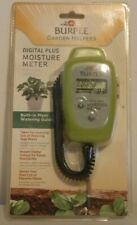 Burpee Garden Helpers Digital Plus Moisture Meter Brand New Sealed NIB