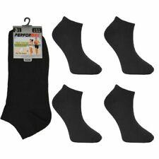 20 Pair Trainer Liner Ankle Sock 6-11 Shoe Men Women Cotton Rich Gym Sport Sock