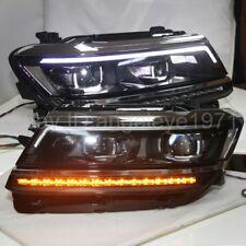 LED strip Headlights For 2016-2018 Year VW Tiguan LED turn signal lamps light LD