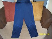 Men's Dark Blue Under Armour Fitted Cold Gear Athletic Pants Size M