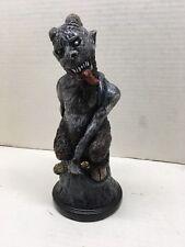 Krampus Evil Christmas Bust Statue Hand Made Horror Art Sculpture