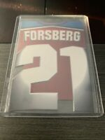 1997-98 Pacific Paramount NHL Super Rare Die Cut #5 Peter Forsberg Avalanche