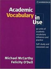Academic Vocabulary in Use. Edition with answers von Mic... | Buch | Zustand gut