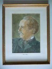 Original Drawing Portrait Karl May