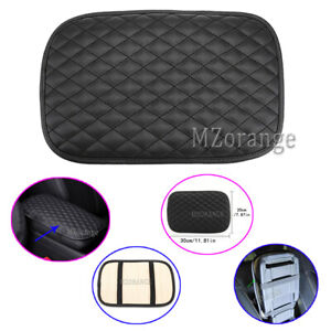 1x Universal Car Armrest Cushion Cover Center Console Pad Protector Accessories