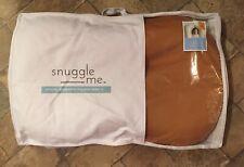 New Ember Snuggle Me Organic Baby Lounger & Infant Floor Seat Virgin Fiberfill