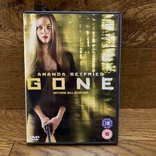 Gone Dvd Film Amanda Seyfried Michael Pare Wes Bentley Intense Thriller region 2