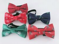 NEW Kid Children Boy Party Christmas XMAS Pre-tied Neck bow tie Necktie bowtie