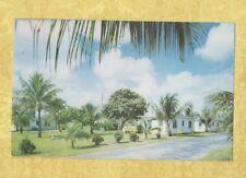 FL Delray Beach 1950-60s postcard SOUTH KOKO KORT HOTEL ROOMS Roadside Florida
