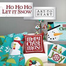Ho Ho Ho Let It Snow: Art To Heart Nancy Halvorsen Christmas Flake Man Projects