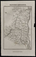 1839 - Carte ancienne Eastern Districts : Canada / Ontario / Antique Map