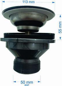 Butler sink Plug and Waste large gap