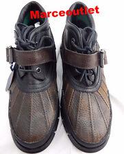Polo Ralph Lauren Dover Boots 10.5D Brown Brown Black $90.00