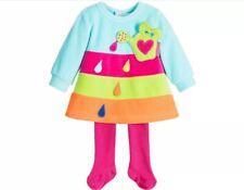Baby Wear 24 Months Agatha Ruiz De La Prada Baby Dress & Tights New