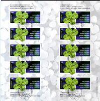 Schweiz 2003 gestempelt MiNr MH 0-133  Glücksbringer  Vierblättriger Klee