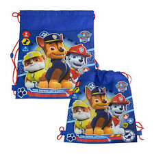 12 Sling Bag Tote Drawstring Non-Woven Paw Patrol Chase New Party Favor Lot