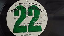 16-inch Transcription Paul Weston & Ray Anthony  - Here's To Veterans